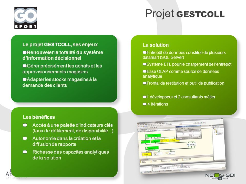 Projet GESTCOLL Le projet GESTCOLL, ses enjeux La solution