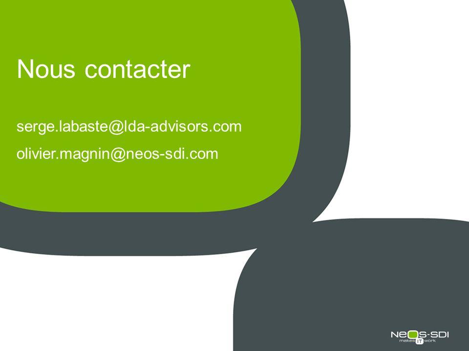 Nous contacter serge. labaste@lda-advisors. com olivier