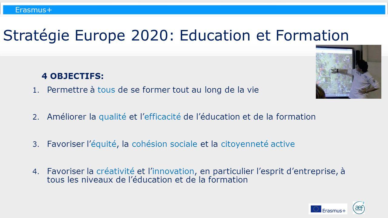 Stratégie Europe 2020: Education et Formation
