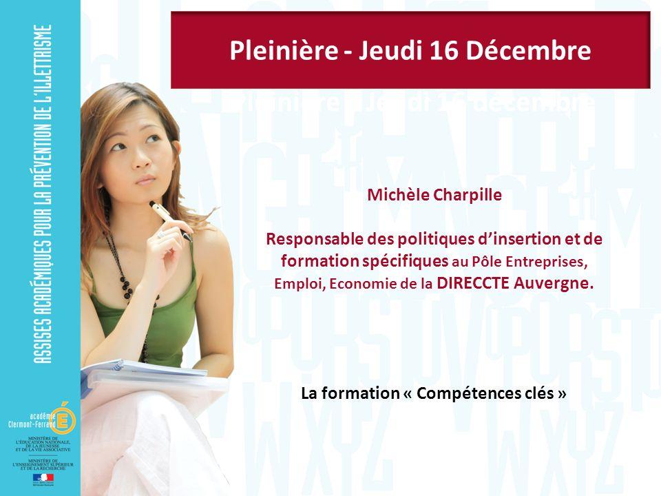 Pleinière - Jeudi 16 Décembre Pleinière – Jeudi 16 décembre