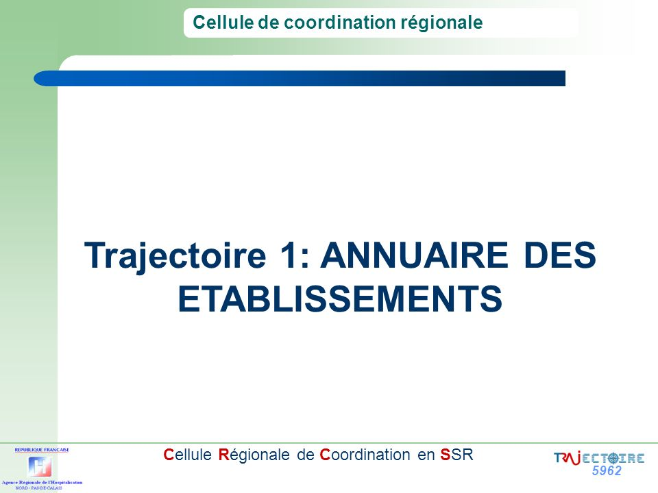 Cellule de coordination régionale