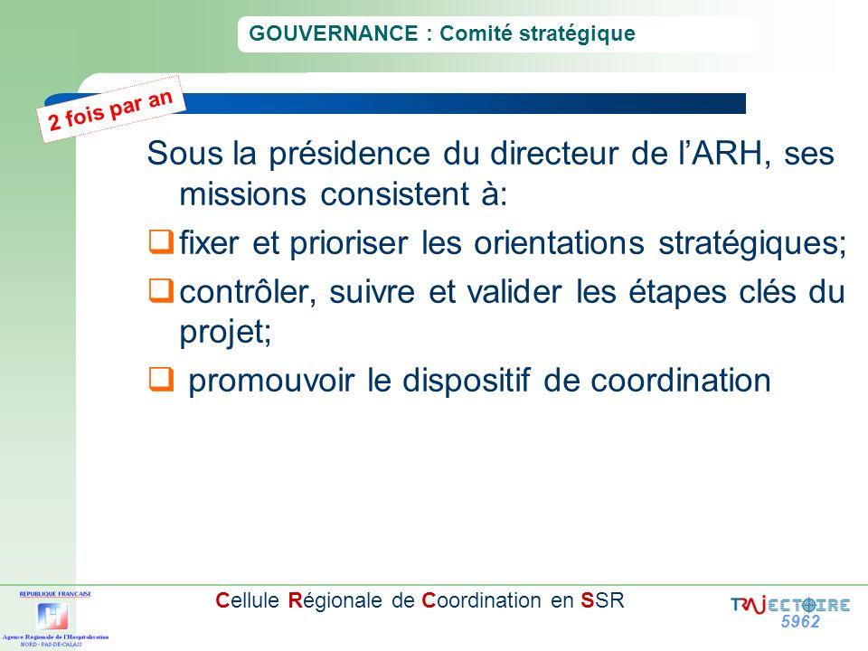 GOUVERNANCE : Comité stratégique