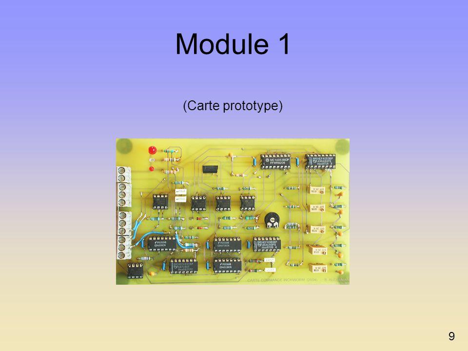 Module 1 (Carte prototype) 9