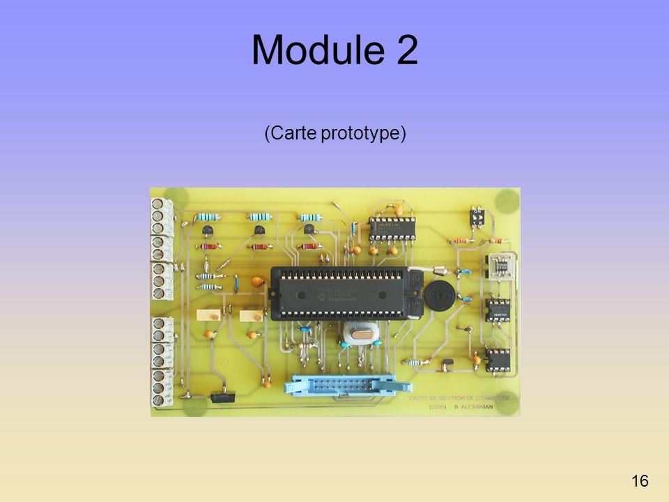 Module 2 (Carte prototype) 16