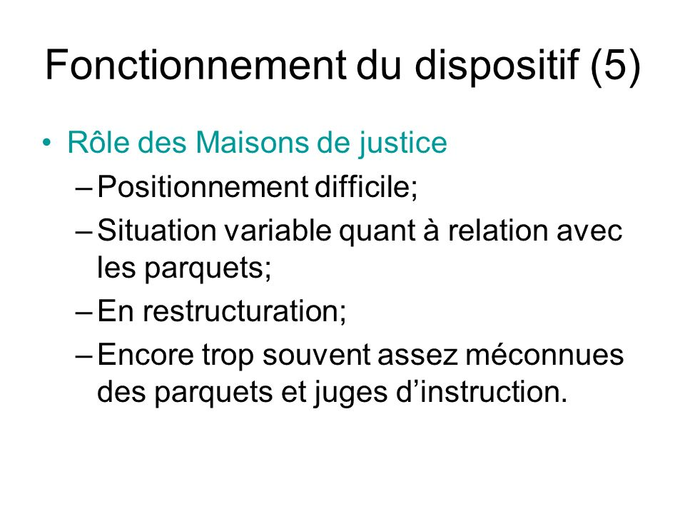 Fonctionnement du dispositif (5)