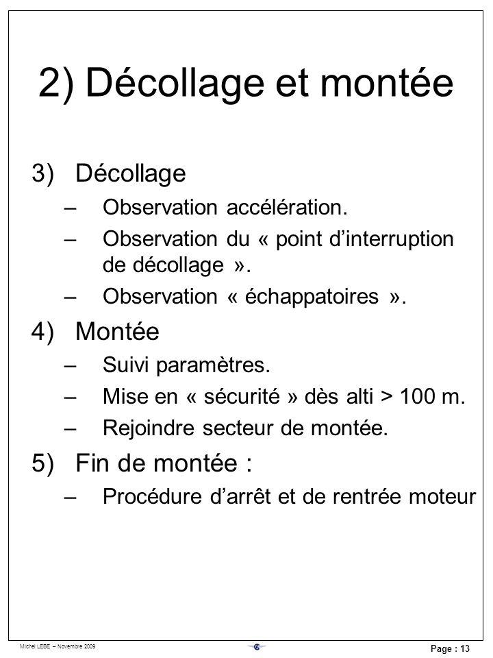 3) En vol Choix du re-démarrage hors local d'aérodrome.