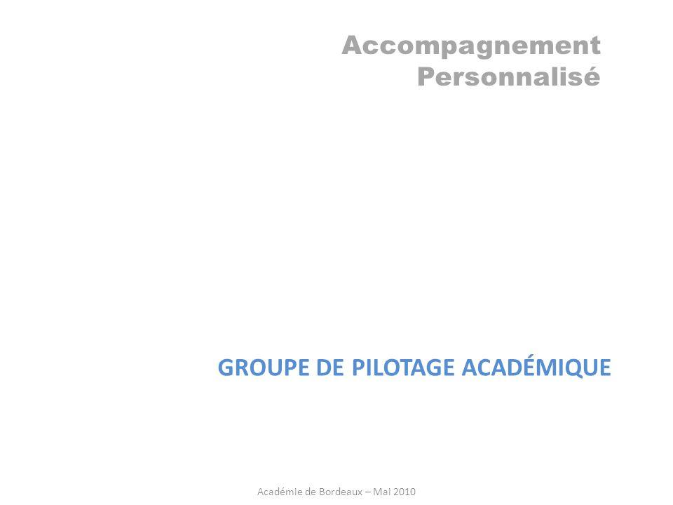 Académie de Bordeaux – Mai 2010