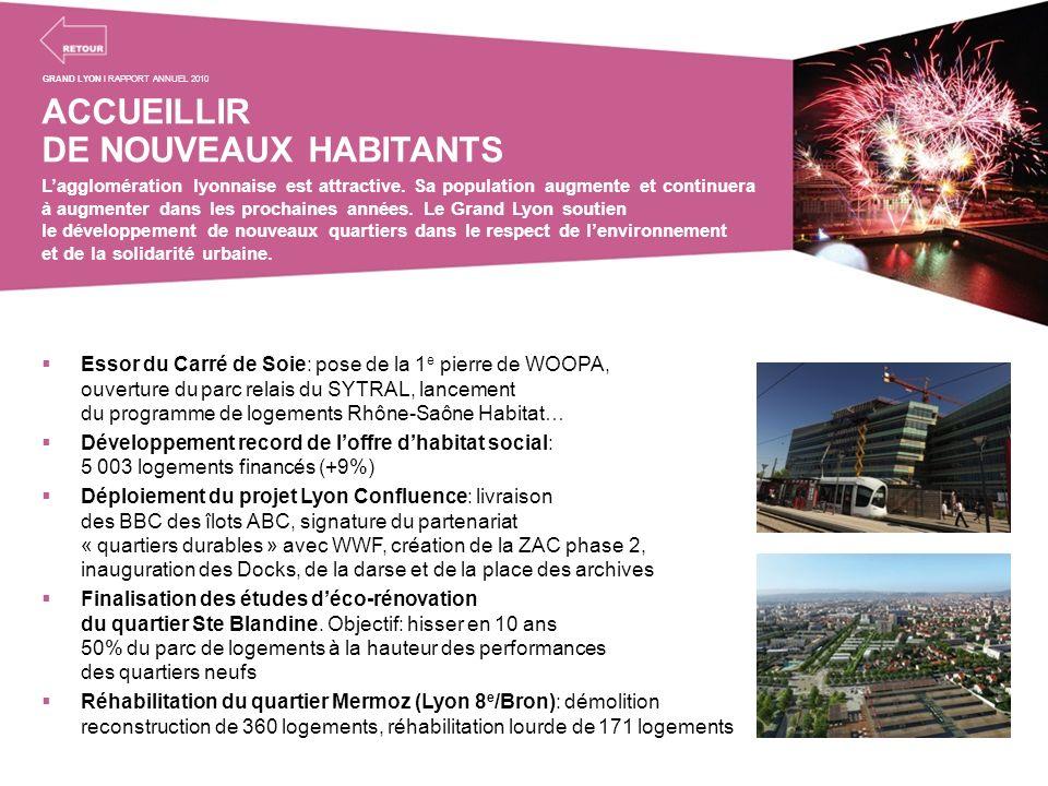 ACCUEILLIR DE NOUVEAUX HABITANTS