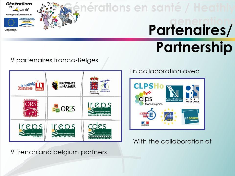 Partenaires/ Partnership 9 partenaires franco-Belges