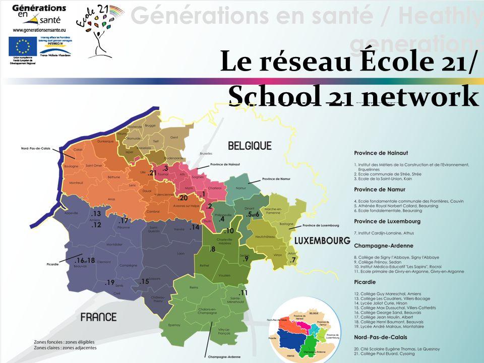 Le réseau École 21/ School 21 network