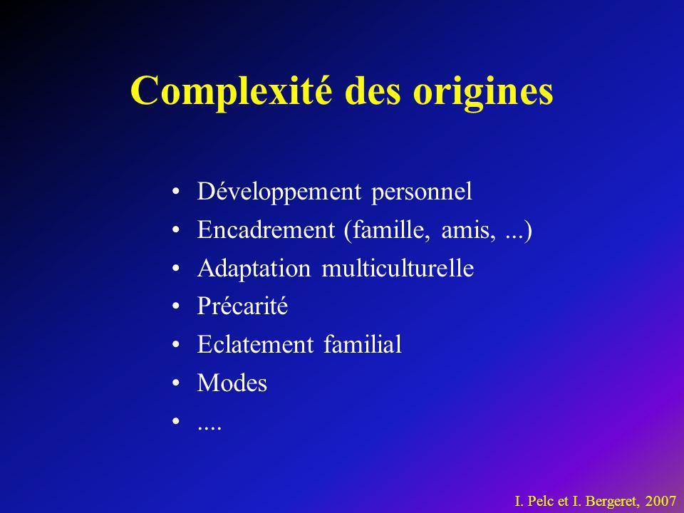 Complexité des origines