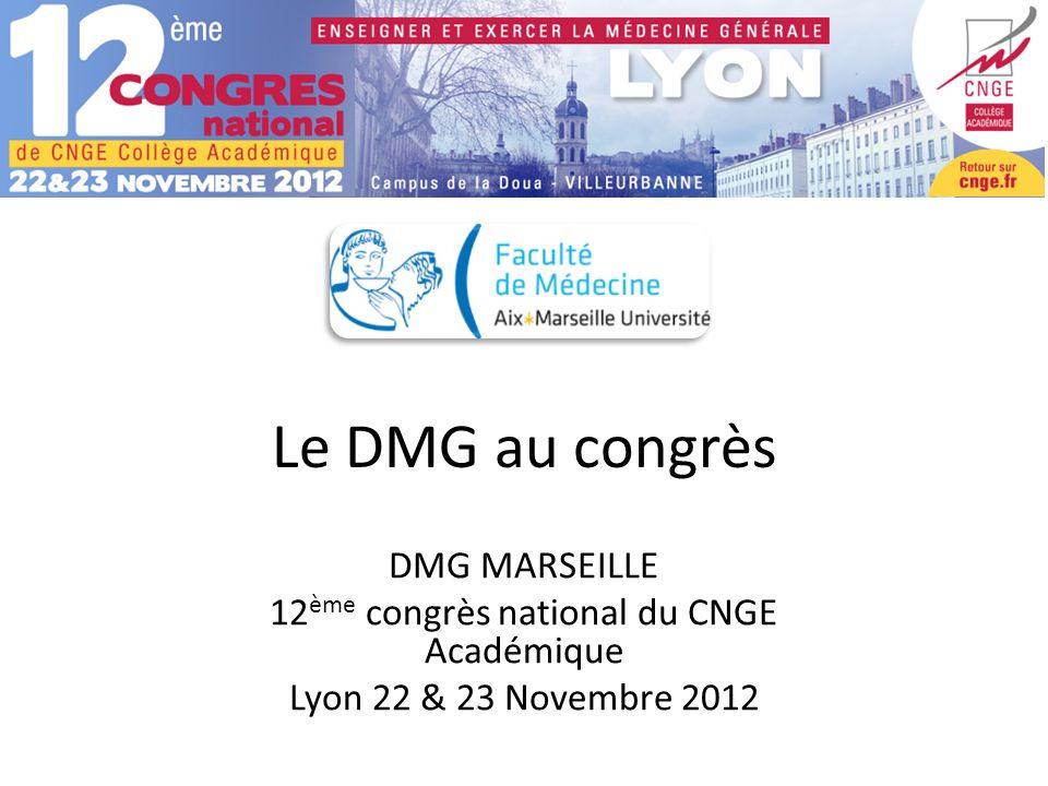 12ème congrès national du CNGE Académique