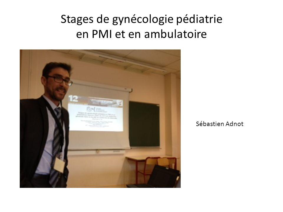 Stages de gynécologie pédiatrie en PMI et en ambulatoire