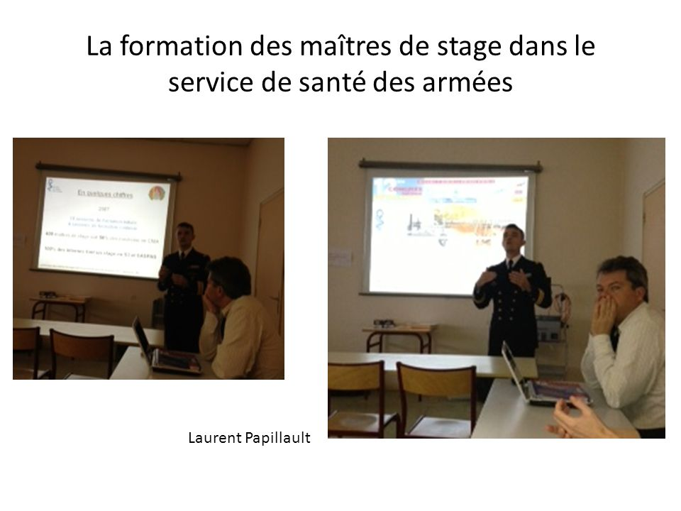 La formation des maîtres de stage dans le service de santé des armées