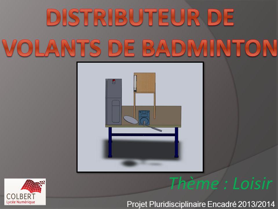 DISTRIBUTEUR DE VOLANTS DE BADMINTON