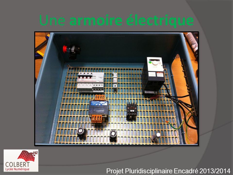 Une armoire électrique