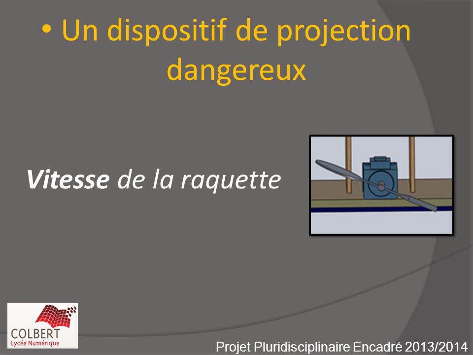 Un dispositif de projection dangereux