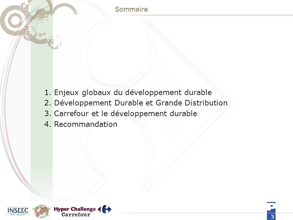 1. Enjeux globaux du développement durable