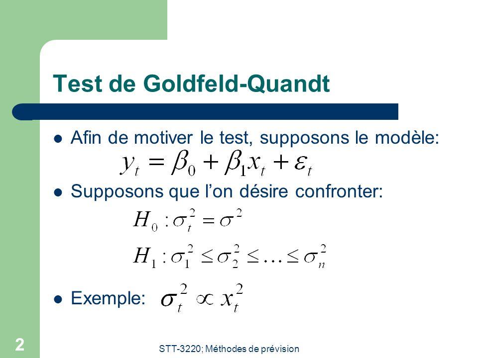 Test de Goldfeld-Quandt