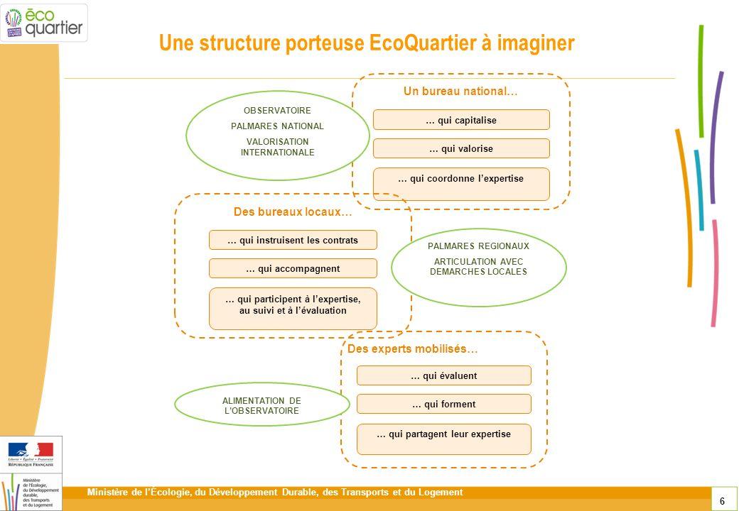Une structure porteuse EcoQuartier à imaginer