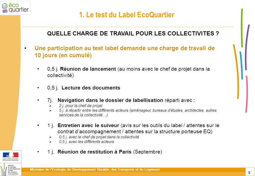 1. Le test du Label EcoQuartier