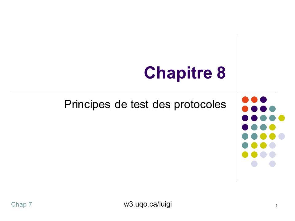 Principes de test des protocoles