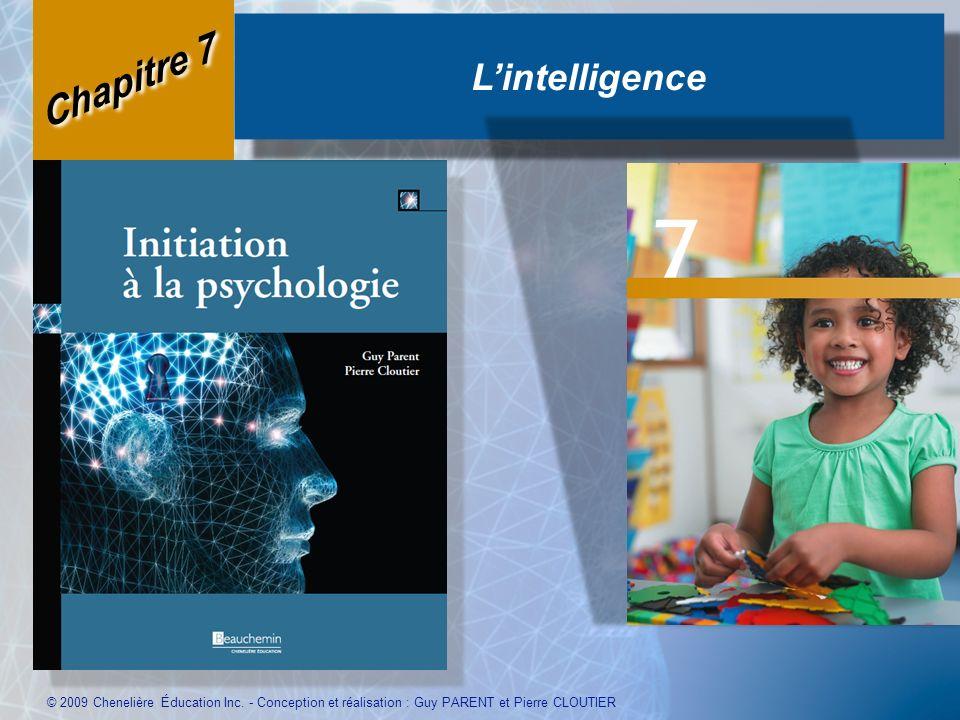 L'intelligence Chapitre 7