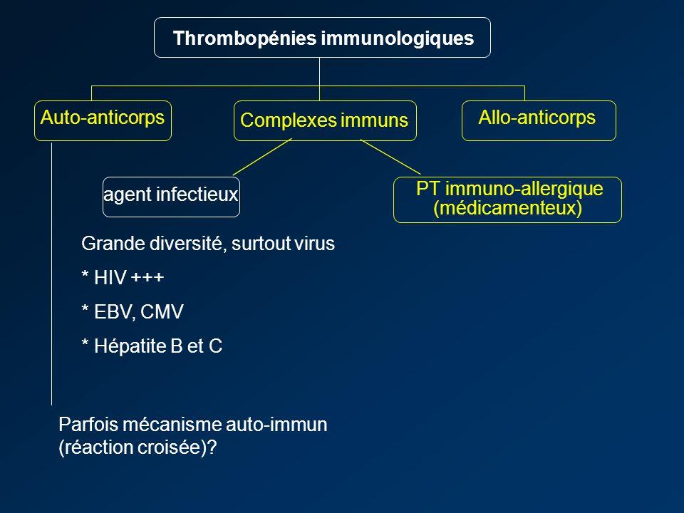 PT immuno-allergique (médicamenteux)