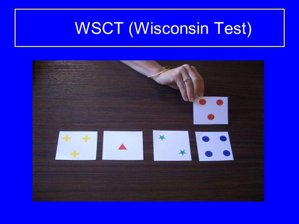 WSCT (Wisconsin Test)