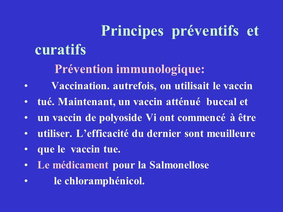 Principes préventifs et curatifs