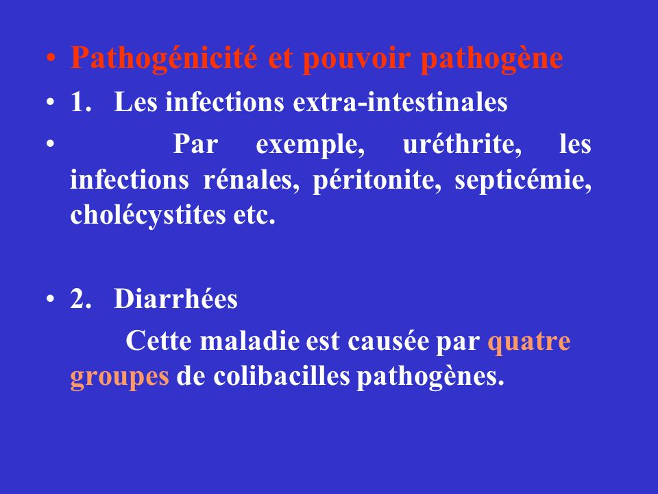Pathogénicité et pouvoir pathogène