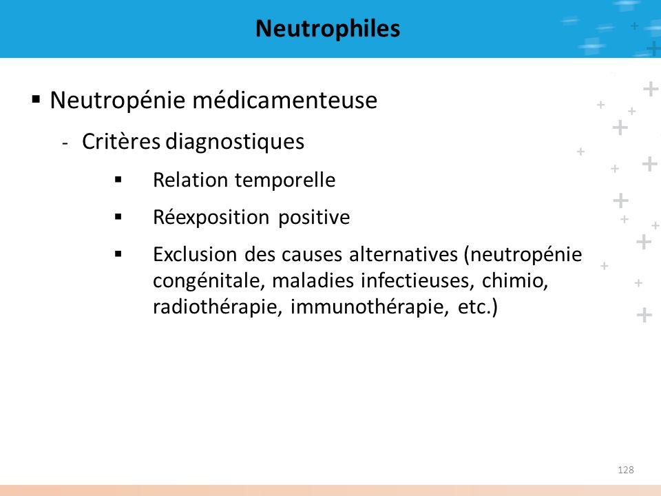 Neutropénie médicamenteuse