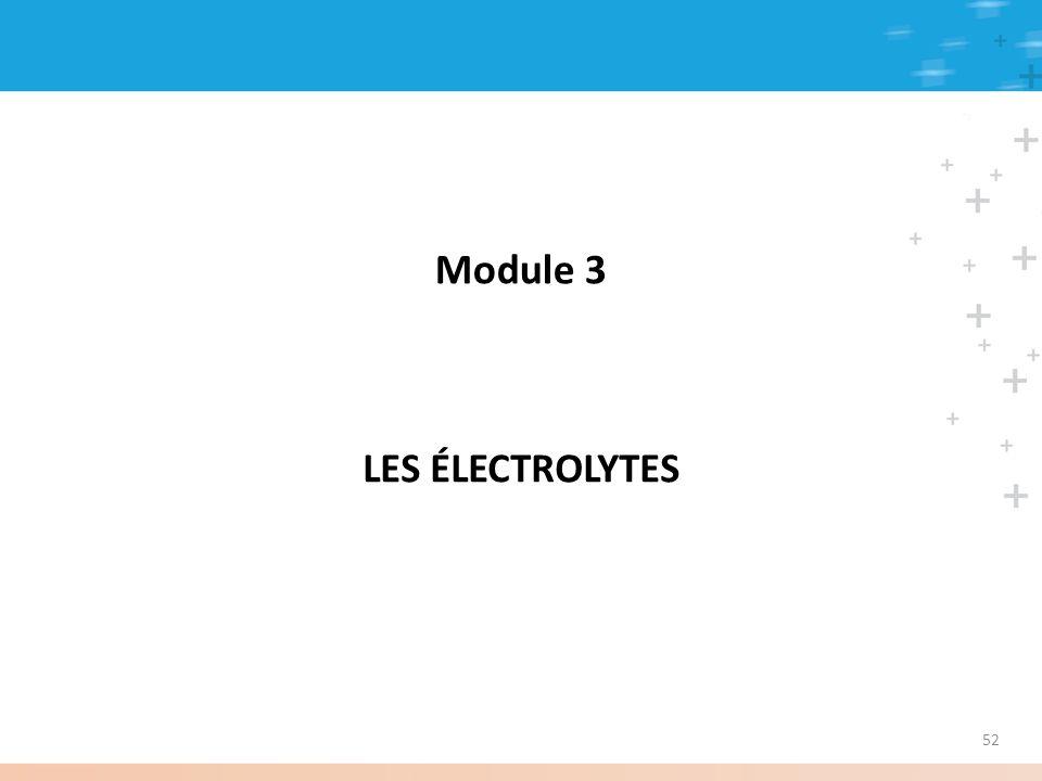 Module 3 LES ÉLECTROLYTES 52