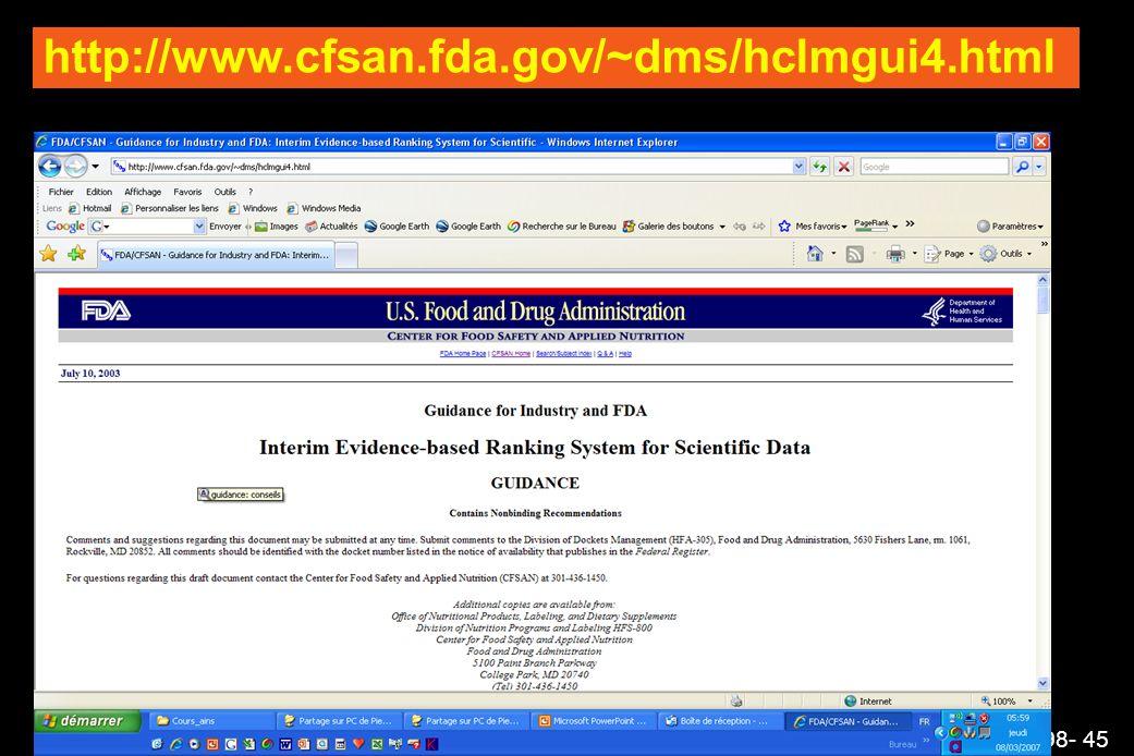 http://www.cfsan.fda.gov/~dms/hclmgui4.html