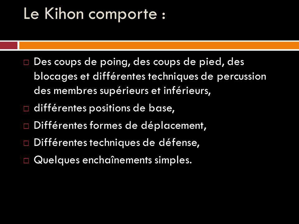 Le Kihon comporte :