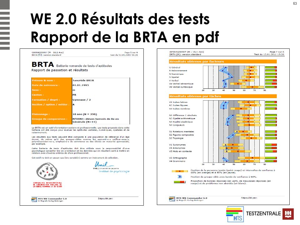 WE 2.0 Résultats des tests Rapport de la BRTA en pdf