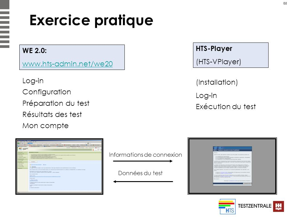 Exercice pratique HTS-Player (HTS-VPlayer) WE 2.0:
