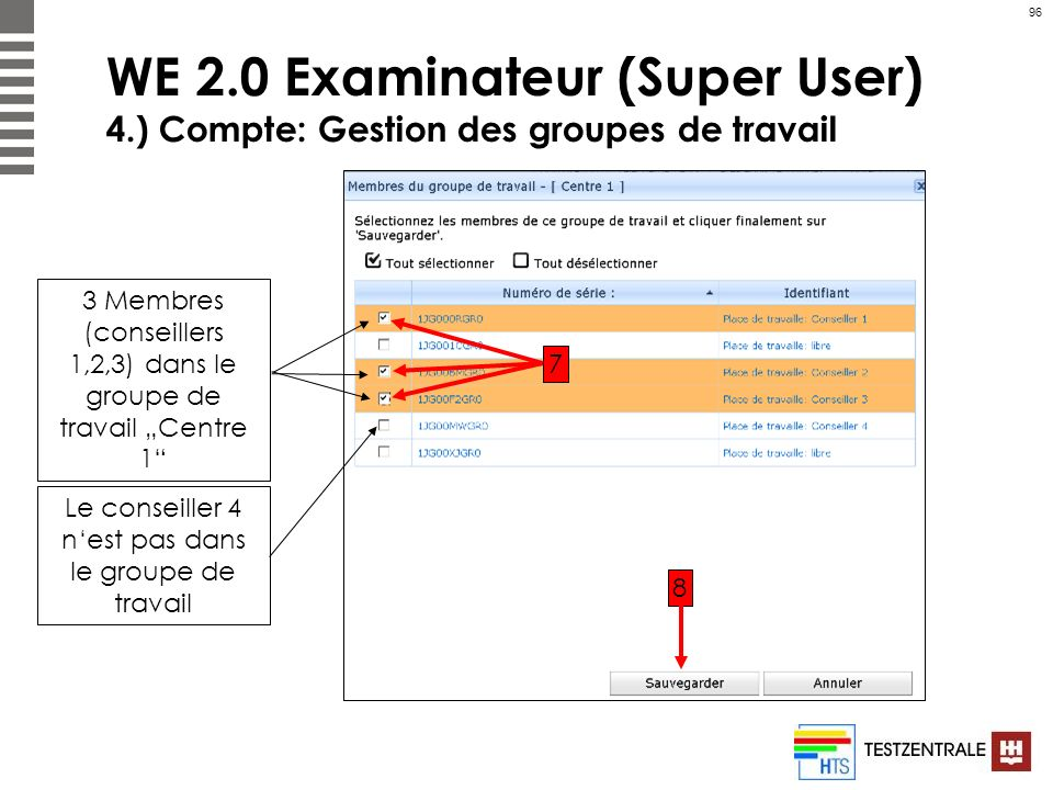 WE 2. 0 Examinateur (Super User) 4