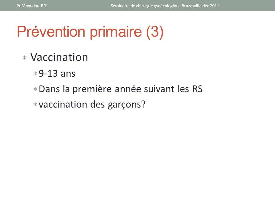 Prévention primaire (3)
