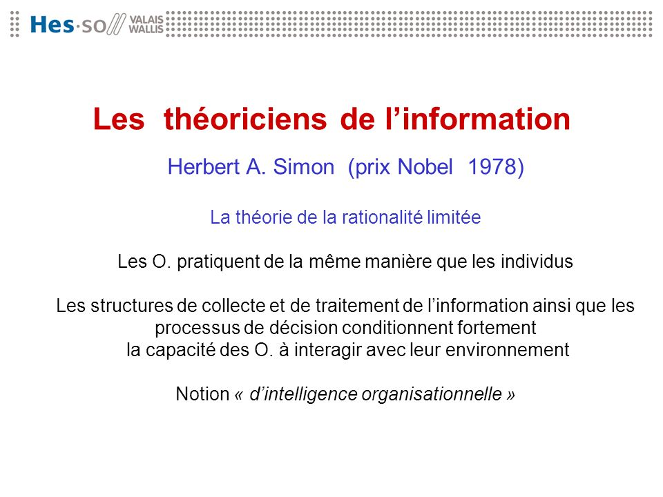 Les théoriciens de l'information