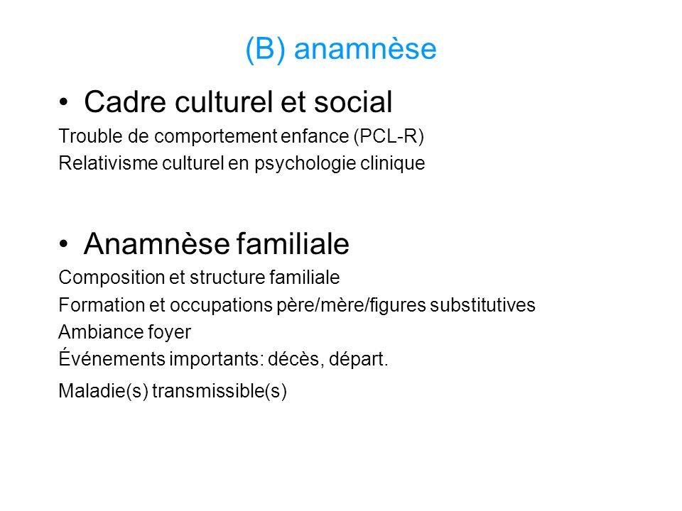 Cadre culturel et social