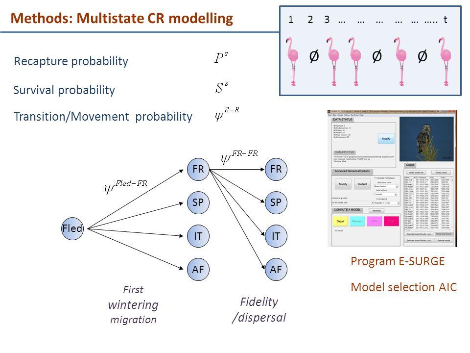 Methods: Multistate CR modelling