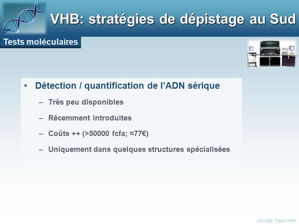 VHB: stratégies de dépistage au Sud