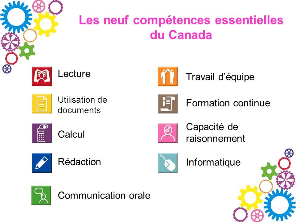 Les neuf compétences essentielles du Canada