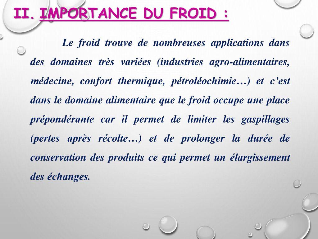 conservation des aliments par le froid pdf