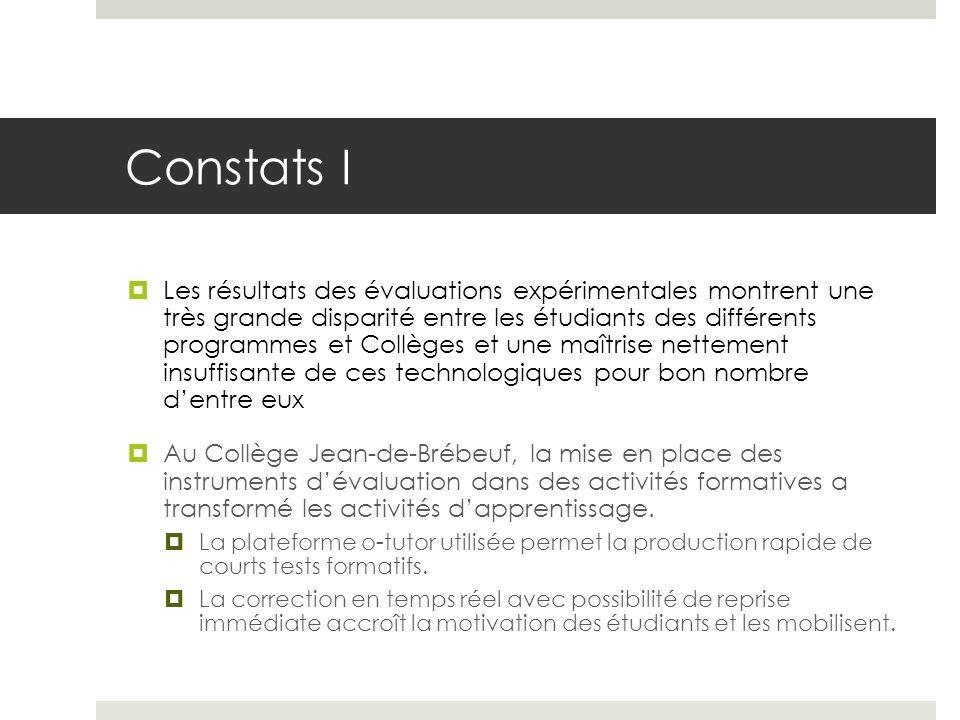 Constats I