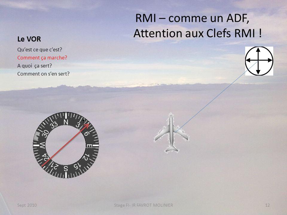 RMI – comme un ADF, Attention aux Clefs RMI !
