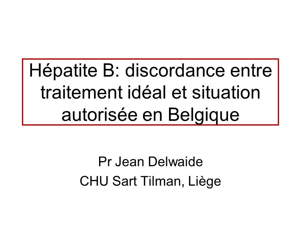 Pr Jean Delwaide CHU Sart Tilman, Liège