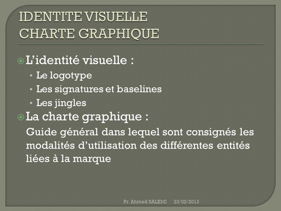 IDENTITE VISUELLE CHARTE GRAPHIQUE
