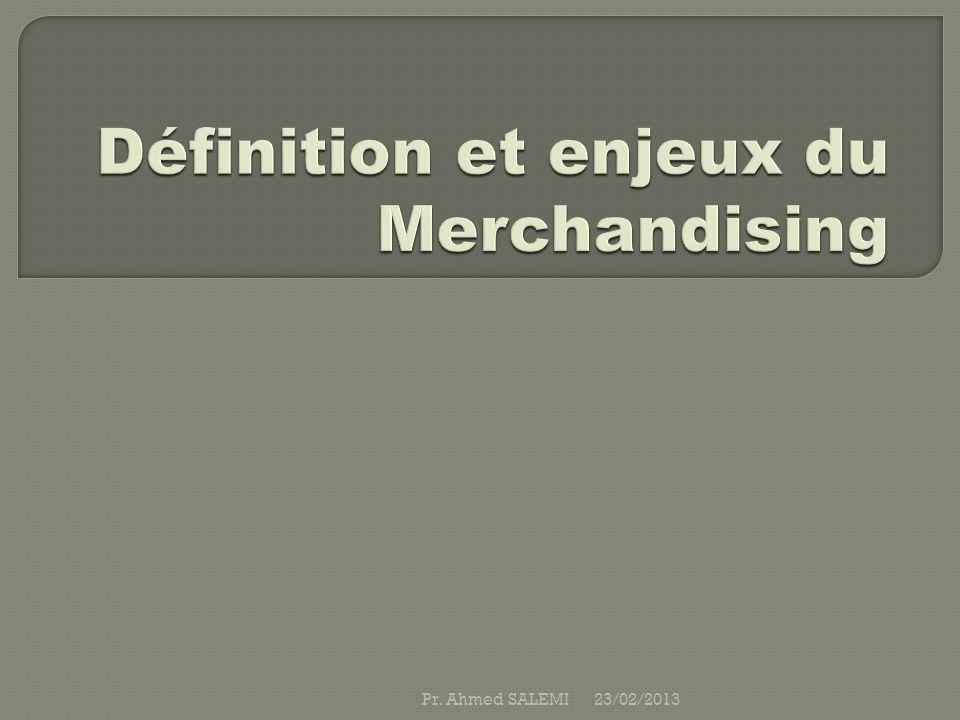 Définition et enjeux du Merchandising